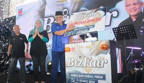 SSM: Program BizFair Di Perak Meriah Habis