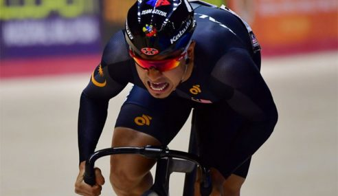 Azizulhasni Raih Perak Acara Keirin Di Piala Dunia UCI