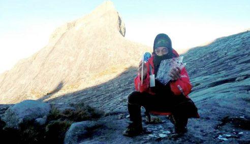 Ketulan Ais 'Muncul' Lagi Di Puncak Gunung Kinabalu