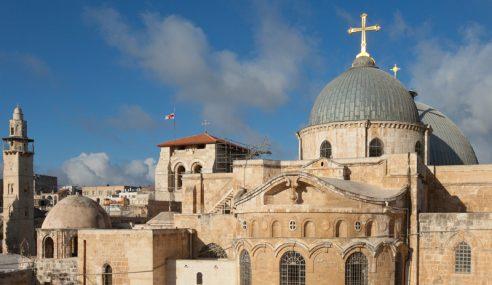 Gereja Paling Suci Di Palestin Bantah Cukai Israel