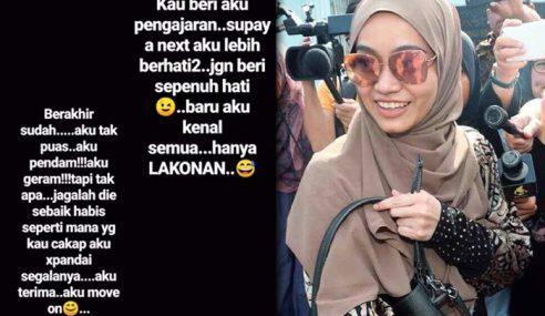 Intan Tinggal 'Pesan' Buat Izreen Azminda Di IG Story?