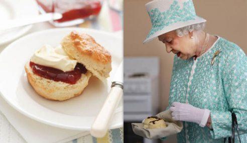 Ratu Elizabeth II 'Selesaikan' Debat Cara Makan Skon