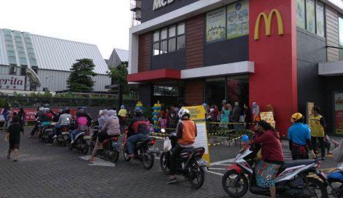McDonald's Indonesia Agih Percuma Rai Hari Sarapan