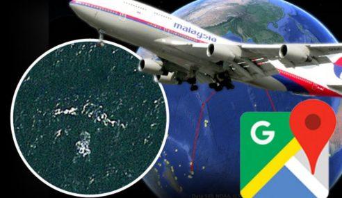Gempar Google Earth Berjaya Jumpa Bangkai MH370