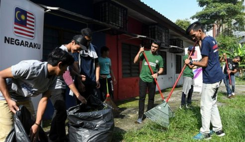 Zahirkan Semangat Cinta Negara Melalui Sukarelawan
