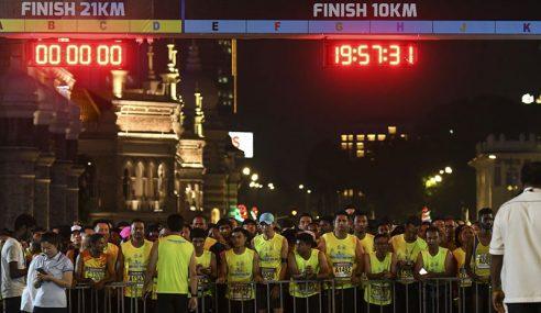 30,000 Peserta Sertai PDRM Night Run 2018