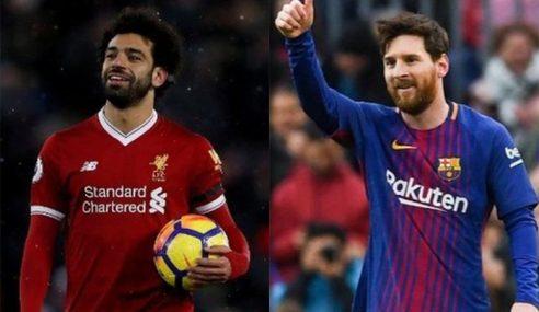 """""""Mohamed Salah Setanding Lionel Messi?"""""""
