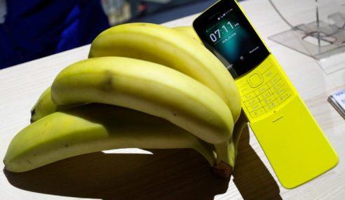 Telefon 'Pisang' Nokia Bakal Masuk Pasaran