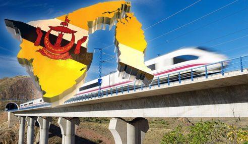 Brunei Mahu Bina Tren Laju Rentas Borneo