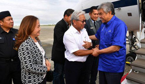 Ahmad Zahid Tiba Di Kuching Mesyuarat PDRM
