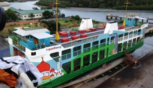 Prasarana Ambil Alih Operasi Feri Pulau Pinang