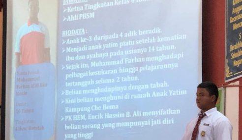 """""""Kalau Dok Rumah Anak Yatim, Boleh Sekolah Balik?"""""""