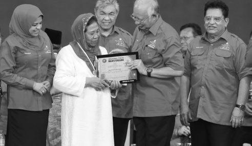 Napsiah Pejuang UMNO, Tokoh Melayu Terbilang