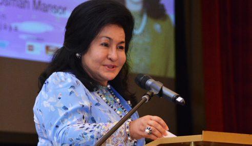 Rosmah Tinjau Pembinaan Hospital Kanak-Kanak