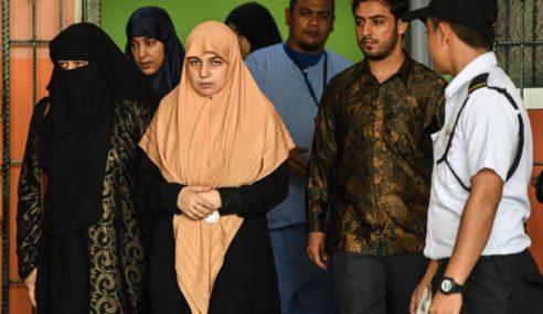 Isteri Allahyarham Fadi Balik Ke Palestin Selamanya