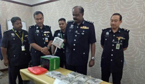3 Lelaki Ditahan Rampas Dadah Lebih RM100,000