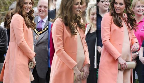 Kate Middleton Tunggu Masa Bersalin