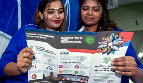 Manifesto MIC Jamin Kesejahteraan Kaum India