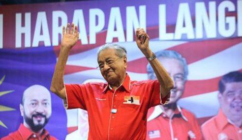 Mahathir Janji Hapuskan Grab Jika Tawan Putrajaya