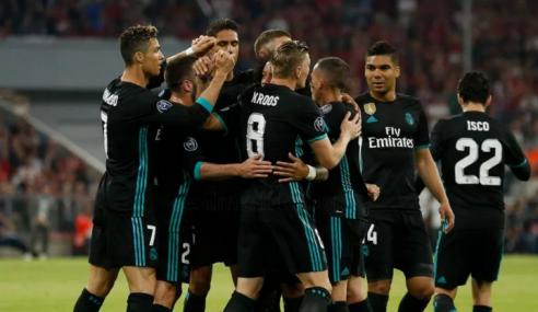 Liga Juara-Juara: Real Bawa Bekalan 2 Gol Ke Bernabeu