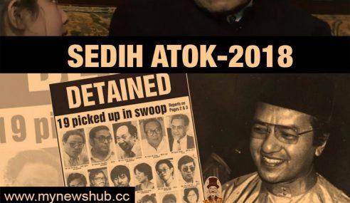 Mahathir Hilang Arah Spin Kempen