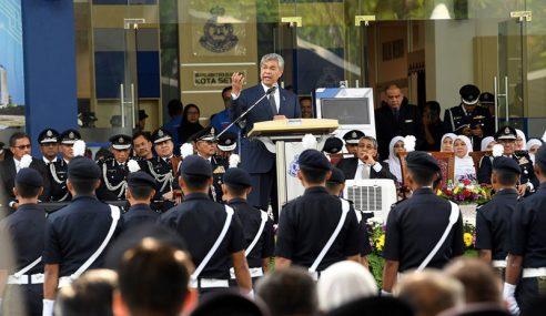 Elaun Anggota Sukarelawan Polis Dinaikkan – Zahid