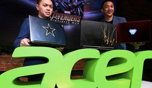 Acer Malaysia Lancar Komputer Riba 'Infinity War'