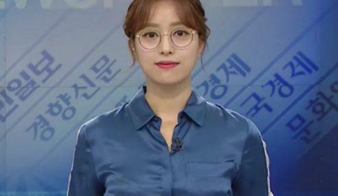 Pembaca Berita Catat Sejarah Di Korea Selatan