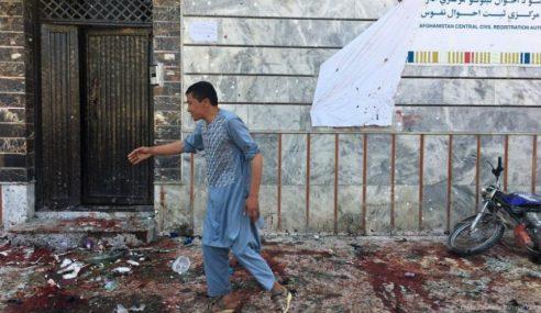 Kawasan Pusat Pendaftaran Pengundi Afghanistan Dibom
