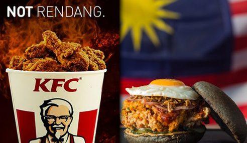 KFC & myBurgerLab Pun Sindir Rendang Ayam 'Crispy'
