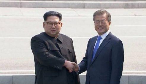2 Pemimpin 2 Korea Julung Kali Bertemu Di Sempadan