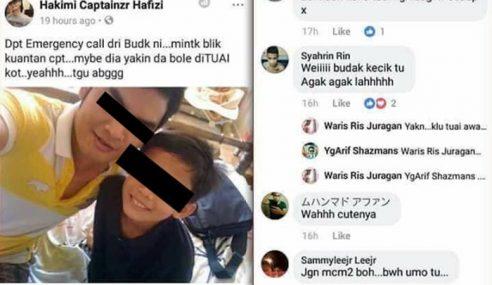 Apa Nak Jadi? 'Kunyit' Dan Pedofilia Menular Di FB
