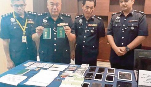 'Geng Lee' Macau Scam Dari Alor Setar Dicekup