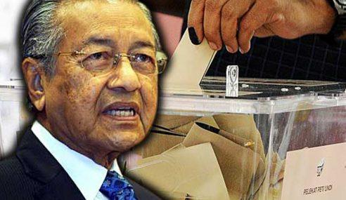 Mengundi Pada Hari Bekerja, Mahathir Dulu Boleh Jer…