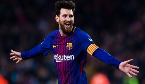 Gaji Lionel Messi Lebih RM100,000 Seminit