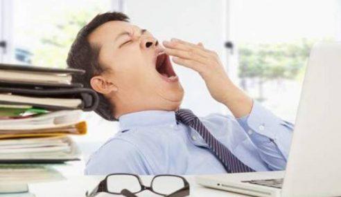 Tabiat Mengantuk Selepas Makan… Itu Tidak Normal!
