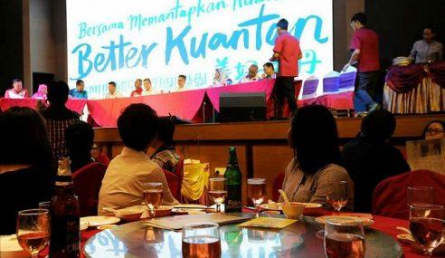 Pengumuman Calon PH Pahang Meriah Disaji Arak