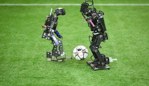 478 Pasukan Sertai Piala Bola Sepak Robotik 2018
