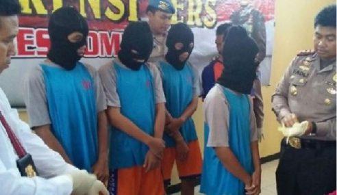 Gadis 'Dikenduri' 8 Lelaki Selepas Pesta Arak