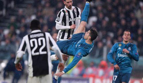 Gol Magis Ronaldo Dapat Tepukan 'Fans' Juventus