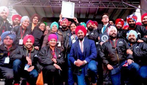 Hari Serban Sikh Catat Rekod Dunia Di New York