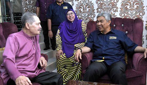 Ahmad Zahid Ziarah Timbalan Pengerusi Tetap UMNO