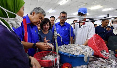 Zahid Lawat Kilang Pemprosesan Makanan Laut