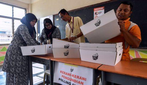 SPR Sedia 401 Pusat Mengundi Seluruh Terengganu