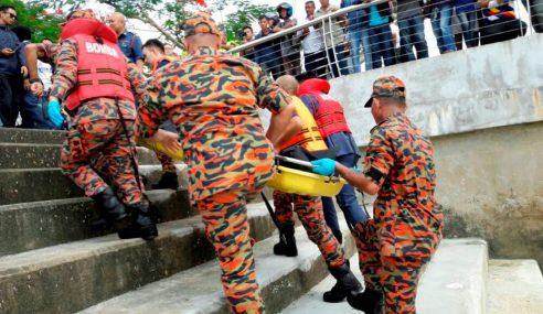 Remaja Lemas Terjatuh Dari Jambatan Darul Hana