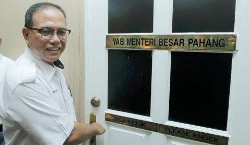 MB Pahang Memulakan Tugas Pada Hari Pertama