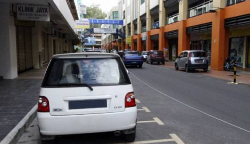 Perak Tawar Diskaun Kompaun Parkir Sebulan