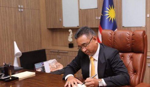 Adly Mula Tugas Ketua Menteri Melaka Hari Ini
