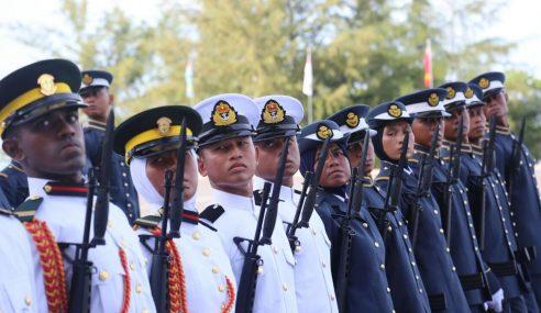 169 Pegawai Kadet Graduan Angkat Sumpah