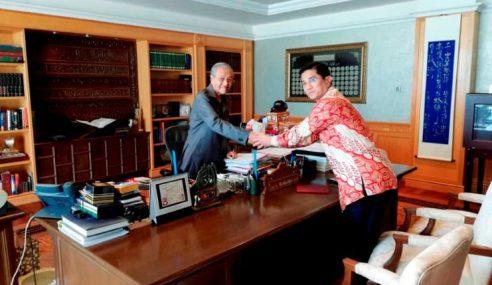 Menteri Atau MB, Azmin Menghadap Sultan Selangor